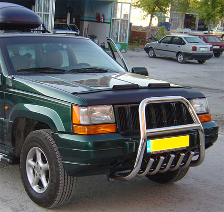 Autobra Jeep Cherokee 96-99 Car Bra Click to enlarge